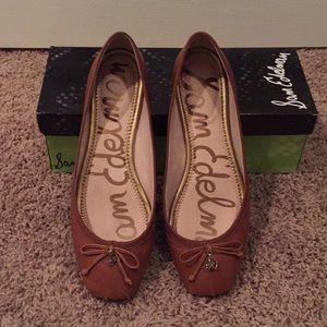4a6f3a7ef Sam Edelman Shoes - Sam Edelman Dominica flats- saddle leather